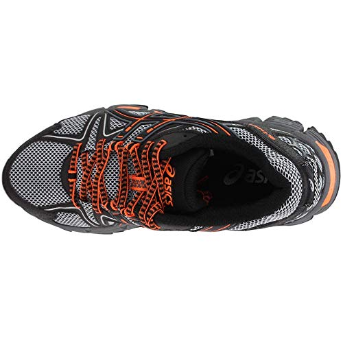 ASICS Mens Gel-Kahana 8 Running Shoe Black/Hot Orange/Carbon 7 Medium US by ASICS (Image #5)