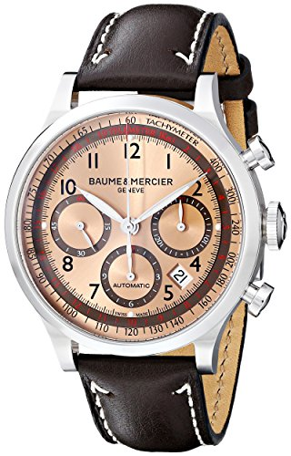 Baume & Mercier Men's 10004 Capeland Mens Automatic Chronograph Watch