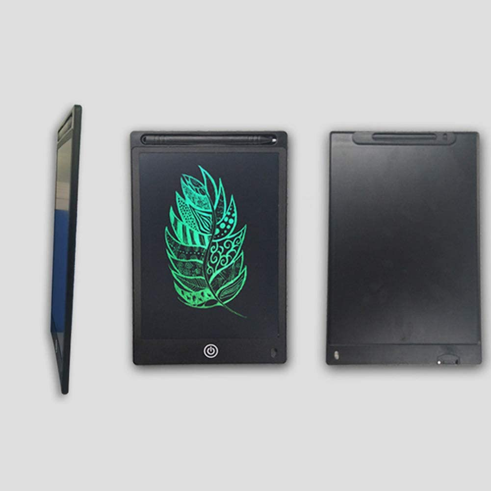 DishyKooker 12 Inch LCD Writing Tablet Drawing Board Electronic Drawing Tablet Kids Doodle Board Writing Pad with Lock Green Office Product Gift