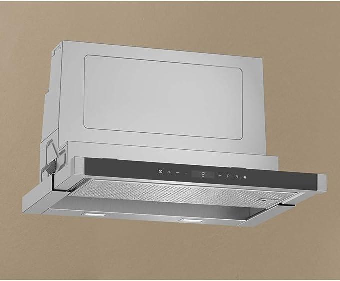 Neff N90 D46PU54X0B - Campana telescópica de acero inoxidable (60 cm): Amazon.es: Grandes electrodomésticos