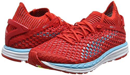 Puma poppy white Multisport Ignite Femme Speed Red Rouge Chaussures Netfit Turquoise Outdoor nrgy aUaR8r