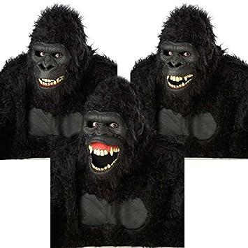 Gorila articulado Máscara de adulto