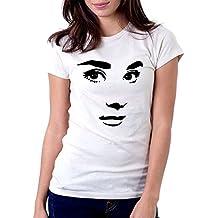Women's Audrey Hepburn Eyes Tee T-Shirt
