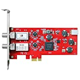 TBS 6902 Dual Satellite Hd Low-Profile Pcie Tv Tuner Card Dvb-S2