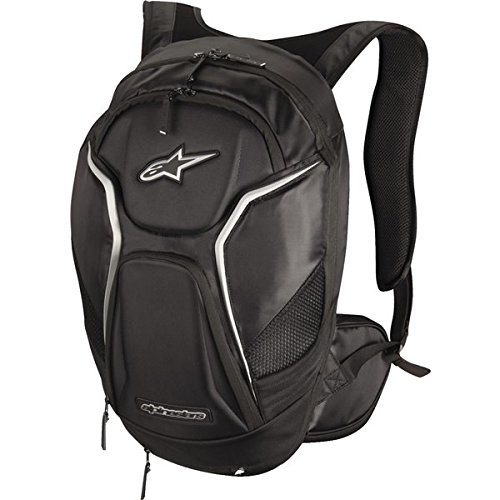 Alpinestars 6107115-12 Black/White 6.5/9.5/5.75 Tech Aero Backpack by Alpinestars