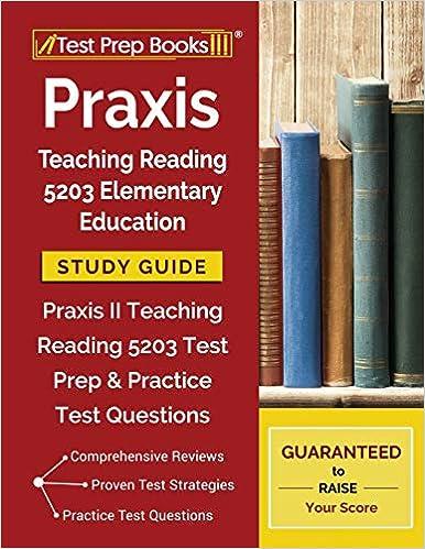 Amazon com: Praxis Teaching Reading 5203 Elementary