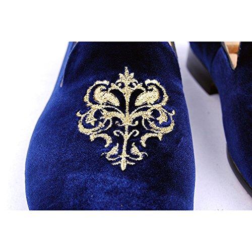 Royal Fulinken uomo collo Blue basso Blu A xYqYrf4wR