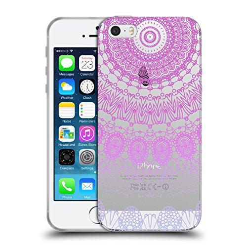 Officiel Monika Strigel Rose Lacet Boho 2 Étui Coque en Gel molle pour Apple iPhone 5 / 5s / SE