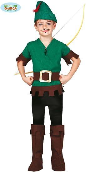 Disfraz de Robin de los Bosques para niño: Amazon.es: Juguetes y ...