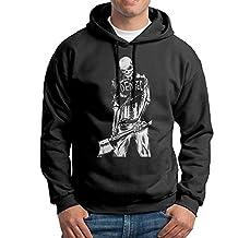 Watch Dogs 2 Dedsec Skeleton Black Mens Pullover Shirts