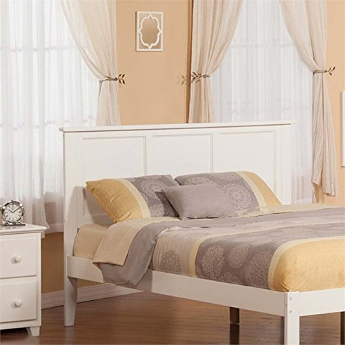 Atlantic Furniture AR286852 Madison Headboard, King, White
