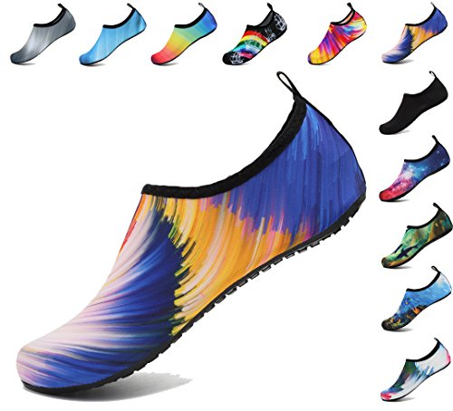 Exercise Shoes Water Surf Barefoot Whirl Yoga Beach Socks Aqua Swim And Blue For Mens Womens Aosifu Pool R4qwvEw