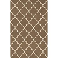 Loloi Rugs PANAPC-01BRBE7696 Panache Collection Transitional Area Rug, 7-Feet 6-Inch by 9-Feet 6-Inch, Brown/Beige