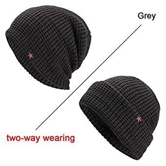 a12e155e1d9 World 2 home FRALU Fashion Skullies Winter Beanies Hats Man Thick Warm  Winter Hat Unisex Thick Hat Women s Winter Caps toucas gorros  Amazon.in   Clothing   ...