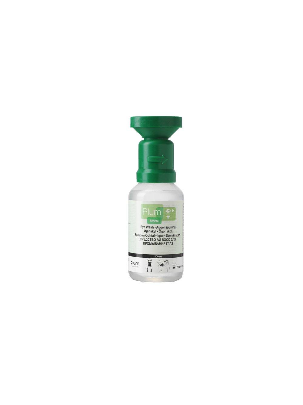 Plum 200ml Saline Eyewash Bottle 46918-2