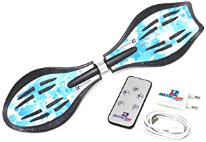 MAXOfit Waveboard Original Rocknroll Board Swing, Blau, RB-001
