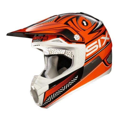 SixSixOne Fenix Fusion Helmet, Orange, X-Large For Sale