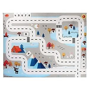 Amazon.com: Melo-bell - Juego de alfombra de juegos con 8 ...