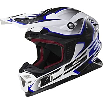 LS2 Casco Luz Brújula off-road MX Casco de Moto