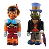 KUBRICK PINOCCHIO & JIMINY CRICKET (ABS & PVC painted action figure)