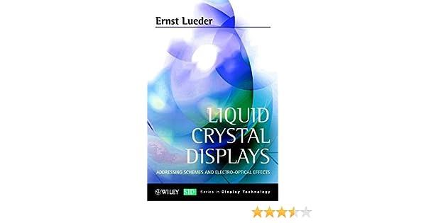 liquid crystal displays lueder ernst