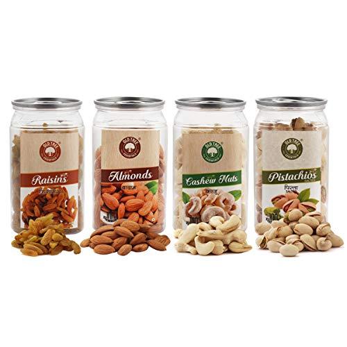 Organic-City-Dry-Fruits-Combo-Almond-RaisinCashewPistachio100g-Each-x-4400g