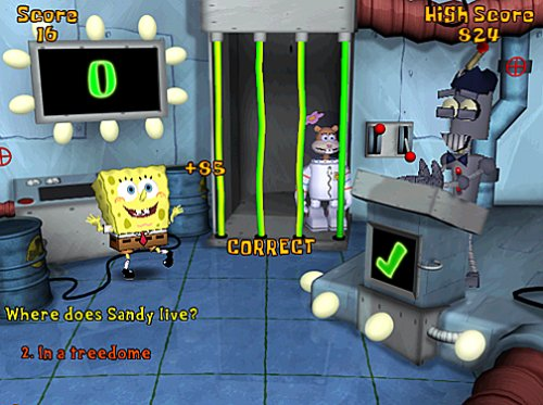 squarepants bottom game spongebob Battle bikini