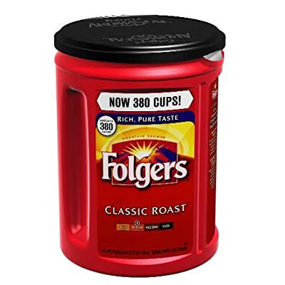 Folgers Classic Roast Ground Coffee - 48 oz. - CASE PACK OF 2 by Folgers