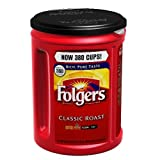 Folgers Medium Roast Coffee, Classic 48 Ounce 4pk, 48oz, 16 Count