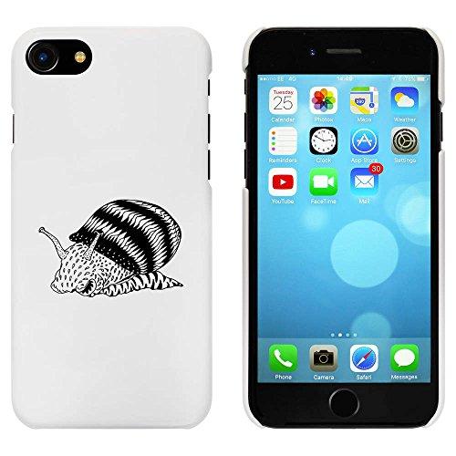 Blanc 'Jazzy Snail' étui / housse pour iPhone 7 (MC00070414)