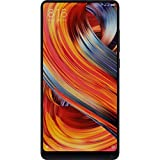 Xiaomi Mi Mix 2 (64GB, 6GB RAM) Global 4G LTE GSM Android Dual Sim Unlocked Phone, No Warranty (Black)
