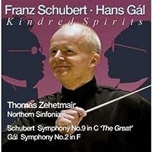 Zehetmair/ Northern Sinfonia Gal Sinf.2+Schubert Sym.9 Symphonic Music