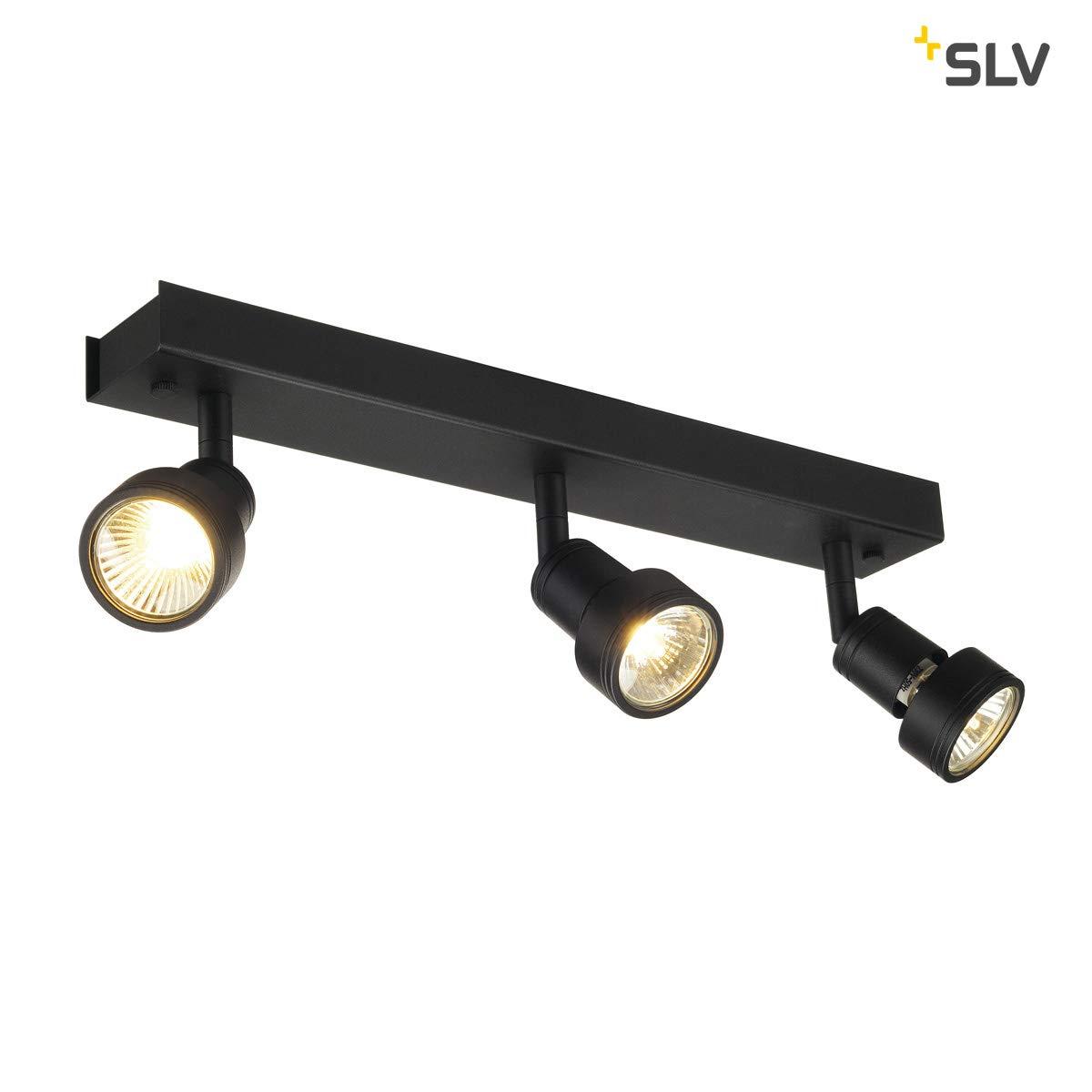 SLV LED Strahler PURI  dreh- und schwenkbar   Smarte Wand- und Decken-Leuchte zur individuellen Innen-Beleuchtung   Decken-Spot, Deckenfluter, Deckenstrahler, Decken-Lampe, Wand-Lampe   GU10, EEK bis A++