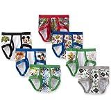 Disney Boys' Toddler 7-Pack, Multi, 2T/3T
