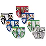 Little Boys' Seven Pack Mickey Mouse Briefs