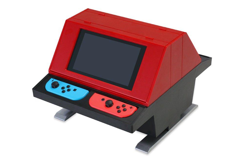 (Switch用) 対面型アーケードスタンド (レッド) - Switch B079PJDGDC  レッド