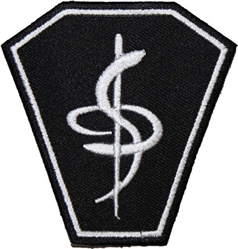 Babylon 5 Medical Lab Coat EMBROIDERED PATCH Badge Iron-on, Sew On 3""
