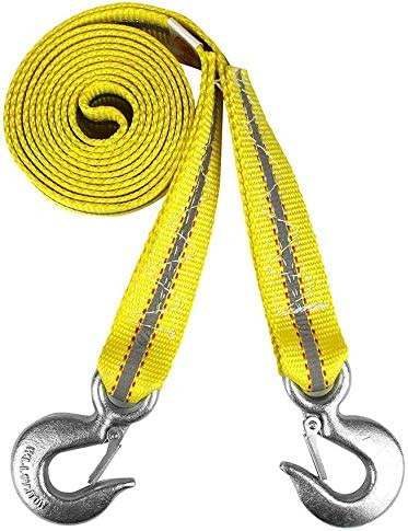 APA 26051 Tow Rope Professional Drag up to 5,000 kg Breakdown