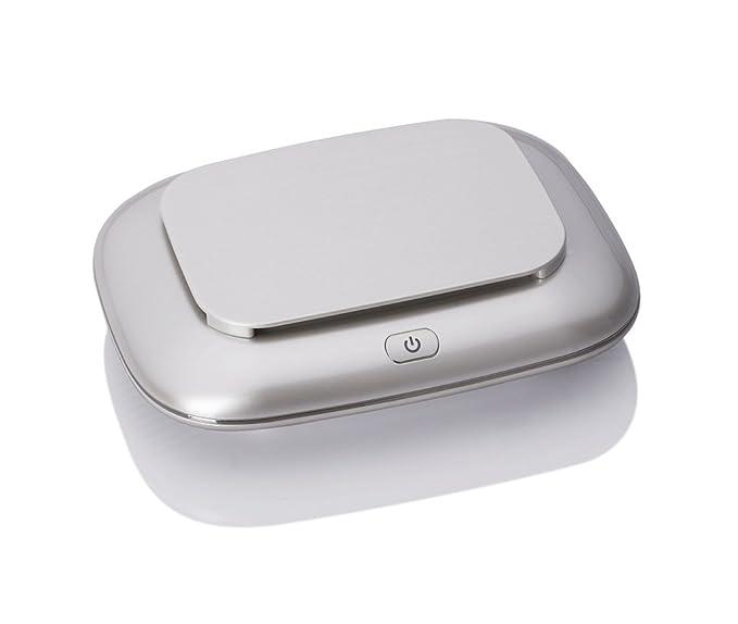 Purificador compacto, purificador de aire iónico silencioso e ionizador para evitar alérgenos, polen del polvo, asma, fumadores, purificadores de aire, ...