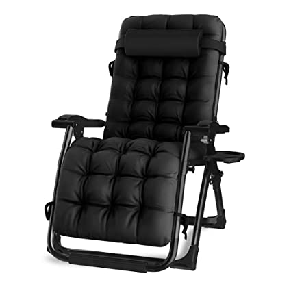Amazon.com: Sillón reclinable de cuatro estaciones con cojín ...