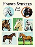 Horses Stickers, John Green, 0486405966