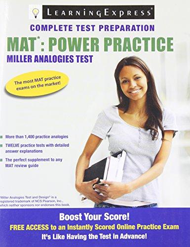 Pdf Test Preparation MAT: Power Practice