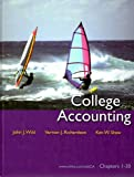 College Accounting, Wild, John J. and Richardson, Vernon J., 0073379441