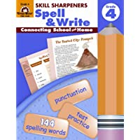 Skill Sharpeners Spell & Write, Grade 4