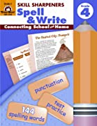 The Evan-Moor Skill Sharpeners Spell & Write, Grade 4 Activity Book will give teachers and parents the ability to supplement the vocabulary and grammar skills the fourth graders are learning in the classroom. We've tailored the lessons in this...