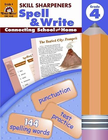 Skill Sharpeners Spell & Write, Grade 4 (Language Of Spells)