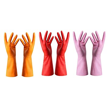 lace up in coupon code best website Amazon.com : Rubber Gloves-Latex Free Kitchen Cleaning ...