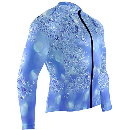 Ladninag Pinterest Sparkles Mens Cycling Jersey Shirts Long Sleeve Mountain Bike Clothes Outfit