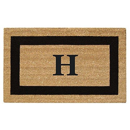 Nedia Home Monogrammed H Superscraper Single Picture Frame, 20