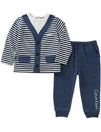 Baby Boys' 2 Pc Pant Set with Vest